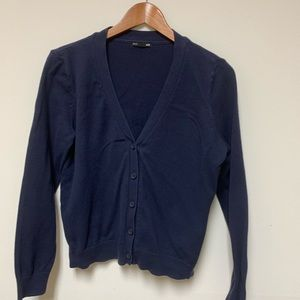 H&M Blue Cardigan